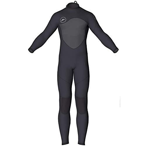 MORGEN SKY ウェットスーツ メンズ 3mm/2mm フルスーツ&スプリング ワンピース ネオプレン素材 胸部スキン サーフスーツ ダイビング サーフィン 素潜り 1070(フルスーツB、L