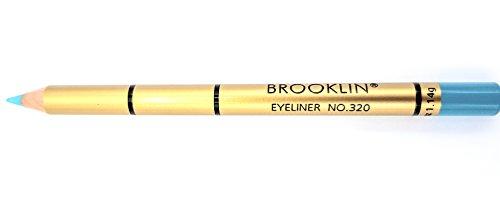 Brooklin - Lápiz de ojos Color Verde Turquesa Nº320 durade
