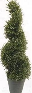 Rosemary Spiral Topiary Tree 4' UV Rated 4 Foot in a Pot one