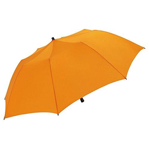 FARE Sonnenschirm Travelmate Camper mit UV Schutz 50+ TÜV-Zertifikat für Camping Reise Balkon Strand Garten (Orange)