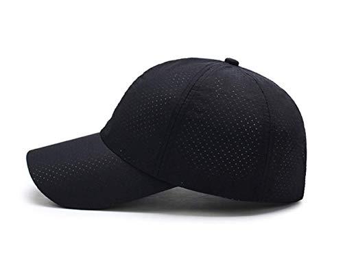 Sommer Und Herbst Herren Baseball-Kappe Sonnengeküsst Sonnenhut Damen Outdoor-Sport-Cap Solide-farbige Atmungsaktive Mesh-Hut