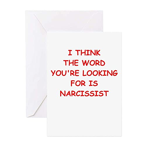 Narcissist Greeting Cards Greeting Card Funny Birthday Card Cute with Envelopes for Kids,Mom,Dad,Sister,Friends ,Christmas Gifts