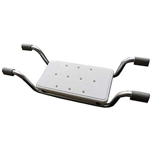 WECDS-E Silla de Ducha,Asiento de baño portátil con protección antimicrobiana,para Seguridad y Estabilidad,para discapacitados,PersonasMayores,bariátrico