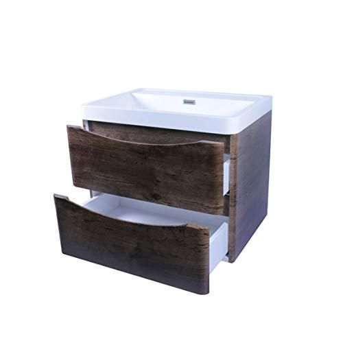 Tecnobath Mueble para baño con Lavabo MB Natura 900