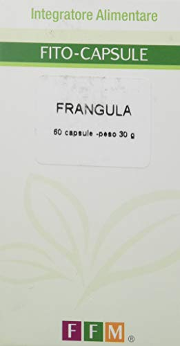 Fitofarmaceutica Frangula - 60 Capsule Gelatina Vegetale