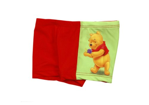 Disney 88851 – Short de bain, Winnie l'ourson, Couleur : Rouge