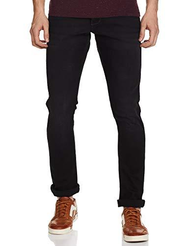 Wrangler Men's Skinny Fit Jeans (W38713W22SMU034033_Jsw-Black_34W x 33L)