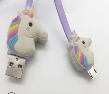 Kanggest.Cargador USB Tipo C de Unicornio USB-C Cargador Tipo C Carga Rápida Cargador Tipo C Dispositivo Compatible Samsung Galaxy S8+/S8/S9+/S9,Google Nexus/MacBook,Huawei P9/10