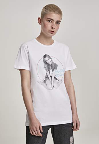MERCHCODE Ladies Britney Spears Tee T-Shirt Femme, Noir, XXL