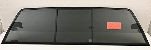 NAGD Compatible with 1988-1998 GMC Pickup Chevrolet Pickup (C1500 K1500) 1988-2000 (C2500 C3500 K2500 K3500) Rear Sliding Glass Back Slider Window
