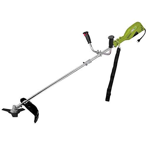 WerkaPro 10679 - Débroussailleuse électrique - 1400 Watts - Inclus un harnais + une lame 3 dents +...