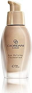 Oriflame Giordani Gold Age Deying Foundation, 1 oz/ 30 ml -Natural Beige