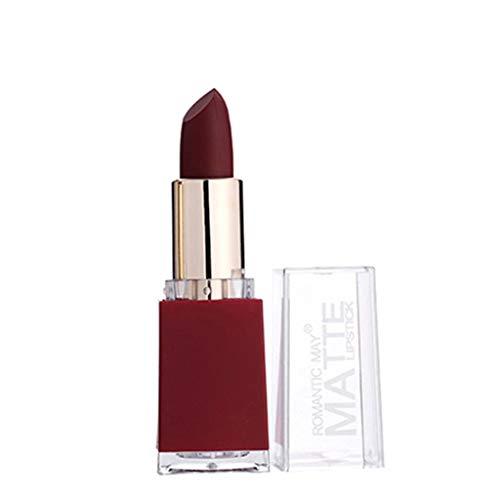 SHE.White Velvet Mattes Lipstick Langanhaltender, feuchtigkeitsspendender Matt Lippenstift mit...