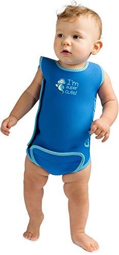 Cressi Infant Baby Warmer - Kinder Neopren Schwimmanzug, Blau, 6/12 Monate