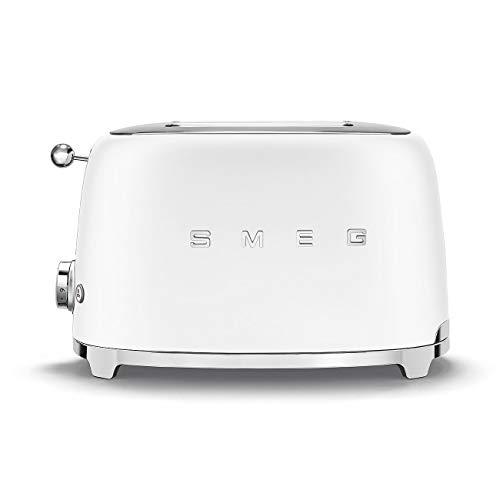 Grille-pain SMEG TSF01WHMEU blanc mat