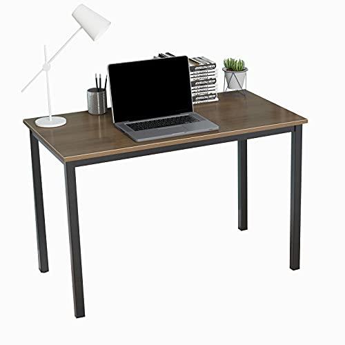 SogesHome Escritorio de Oficina Mesa de Comedor 120 x 60 x 75 cm Oficina Escritorio,Mesa de reuniones,Mesa compacta,Mesa de Trabajo,SH-LD-AC120WN