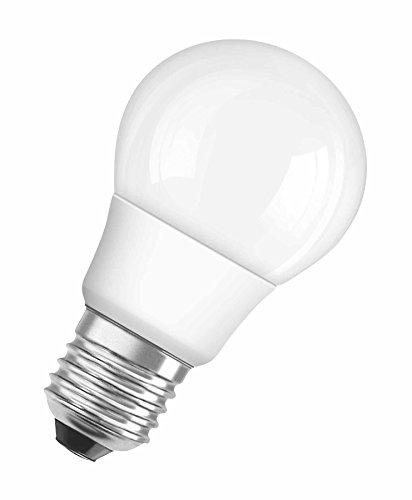 OSRAM ampoule LED E27 dimmable Superstar Classic A Ampoule basse consommation / 6 W– Équivalent à une ampoule incandescente de 40 W, ampoule LED sphérique /mat, blanc froid - 4000K