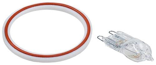 Kit de reparación int. Ø 44 mm ø est. 53 mm Grosor 3 mm para lámpara horno Adecuado : Unox Artículo en chisko it:CFKIT12