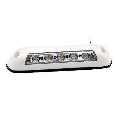 Lámpara Camper, Everpert 12V LED RV Toldo Porche Luz, IP67 Impermeable Marina Caravana Camper Remolque Exterior Lámpara que Acampa