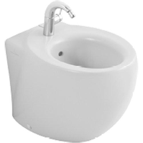 Villeroy & Boch Bidet Aveo 742100 410x560mm Weiß Alpin Ceramicplus, 742100R1, 772411R1