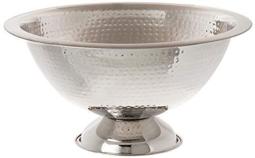 Elegance Hammered Punch Bowl