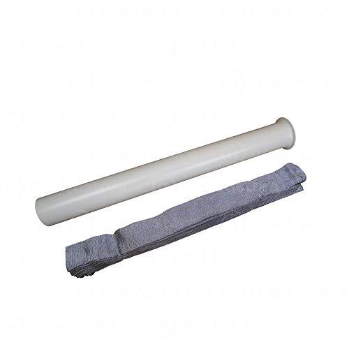 Tubo flessibile per prese Duovac e Aertecnica lunghezza 9 metri