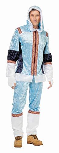 TH-MP Disfraz de esquimal de Inuit para carnaval, fiesta temtica, disfraz de esquimal (58)
