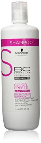 Schwarzkopf - Shampooing Color Freeze Sans Sulfate Bc...