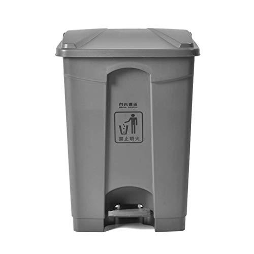 POETRY vuilnisemmer Tribu met hoge capaciteit vuilnisemmer vuilnisemmer van gecomprimeerde kunststof in de open lucht supermarkt milieuvriendelijk vuilnisemmer deodorant binnenemmer (maat