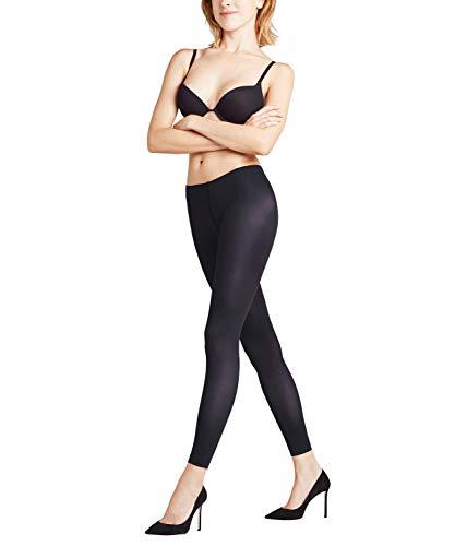 FALKE Damen Leggings Pure Matt 50 DEN, Semi-Opaque, Matt, 1 Stück, Schwarz (Black 3009), Größe: M
