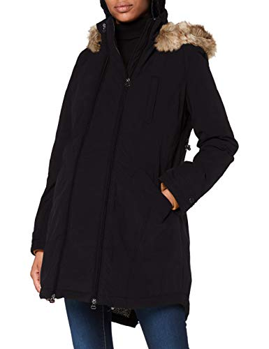 Noppies Damen Jacket 2 -Way Malin Jacke, Black-P090, M