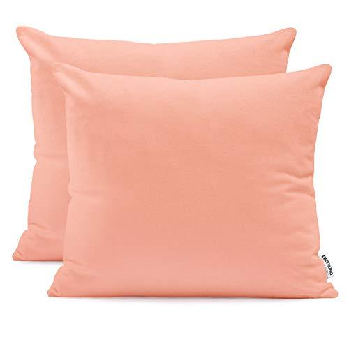 Fundas de almohada de algodón Amber con cremallera de DecoKing