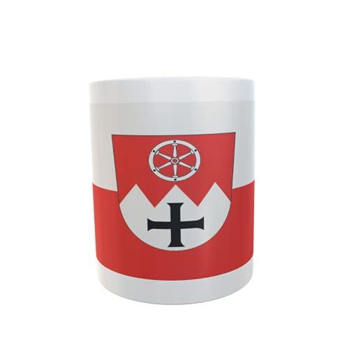 U24 Tasse Kaffeebecher Mug Cup Flagge Main-Tauber-Kreis