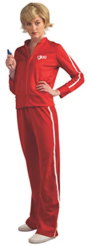 Glee Sue's Red Track Suit Teen Costume, Standard Color, One Size