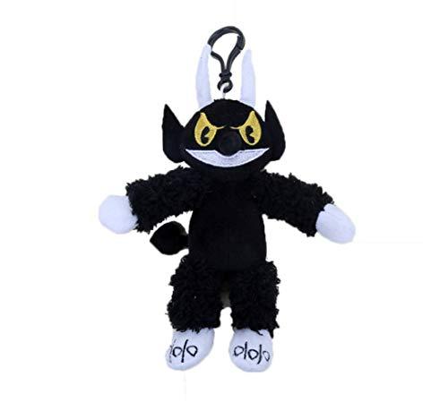 Hanyyj Juguetes De Peluche Juego Cuphead Y Mugman Mecup and Brocup Evil Boss Legendary Chalice Doll Soft Stuffed Doll Regalos para Niños 19Cm