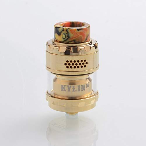 Vandyvape Kylin M RTA 3ml / 2ml E Cigarette Atomizer Top Reap Vaporizer Sin nicotina Sin tabaco (Gold)