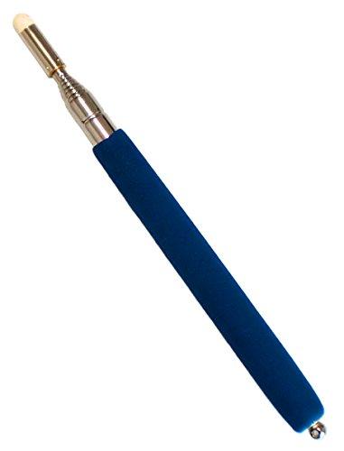 滑り止めグリップ 伸縮 差し棒 指示棒 ブルー