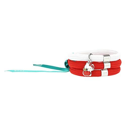 THUN ® - Bracciale elastico colorato Impulse Hello Kitty® THUN con mela - 16 cm