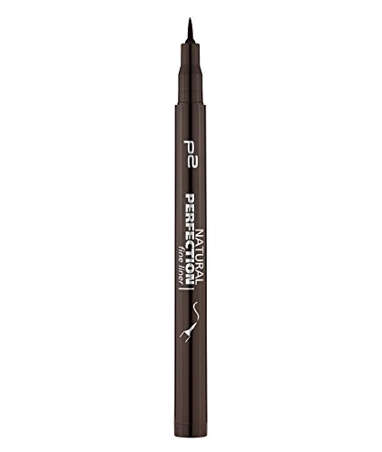 p2 cosmetics Natural Perfection Fine Liner 020, 3er Pack (3 x 1 ml)