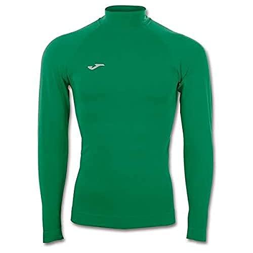 Joma Brama Classic Camiseta Termica, Hombre, Verde, S-M