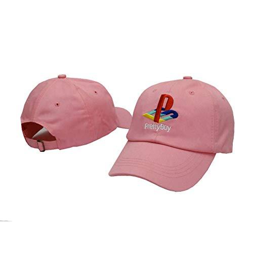 JKYJYJ Hübscher Junge Baseball Cap Playstation Hut Verstellbarer Hysteresenhut Strapback Papa Hüte Männer Frauen Hut Knochen Masculino Hip Hop