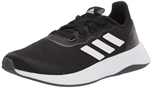 adidas,womens,QT Racer Sport,Black/White/Grey,6.5