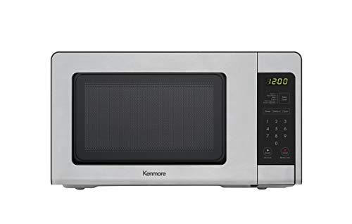 Kenmore 70713 Countertop Microwave, 0.7 cu. ft, Stainless Steel (Renewed)