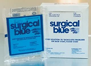 Crystal Surgical Blue Tack Cloth, 12-pk