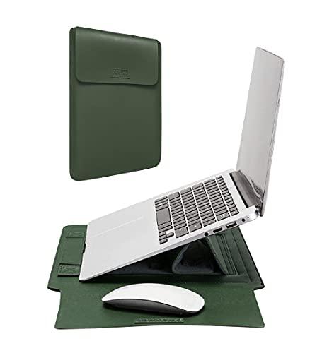 Laptophülle mit Ständer und Mauspad Funktion - Laptoptasche Kompatibel mit 13,3/14 / 15,4/15,6 Zoll Notebook FBBULES