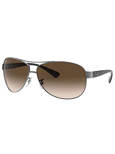 Ray-Ban de los hombres Gafas de sol de aviador RB3386, marrón, One Size