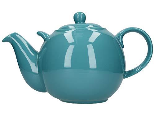 London Pottery 50195 Globe Extra große Teekanne mit Sieb, keramik, aqua