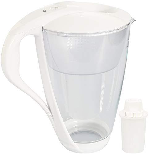 Glas-Wasserfilter Dafi Crystal Classic 2.0L inklusive 1 Filterkartusche - Weiß