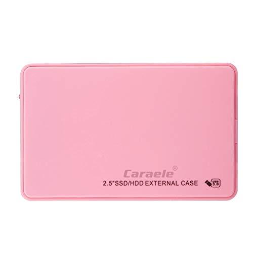Almencla Portable Tragbare Externe Festplatte USB 3.0 2,5'' Speicherplatz HDD/SSD 80GB, 160GB, 250GB, 320GB für Windows, für Mac OS - 320GB