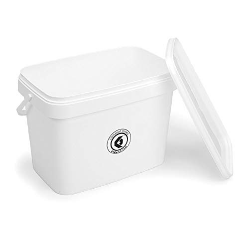 Kildwick Komposttoiletten Feststofftank groß weiß